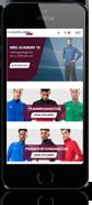 FLYERALARM sports - Smartphone Ansicht