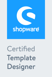 Shopware cerfitified template designer