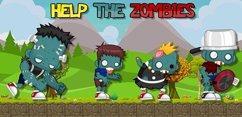 Help the Zombie - Erfolgreiche Android und Apple App